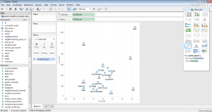 self-service analytics - tableau - second screen